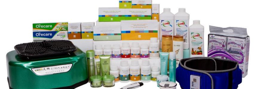 Концепция упаковки биологически активных добавок «Тяньши»